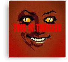 Thriller at Night Canvas Print