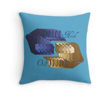 Need Oil? Throw Pillow