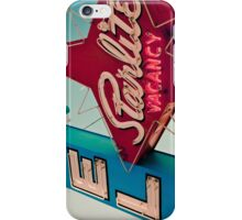 Vintage Las Vegas Starlite Motel Sign iPhone Case/Skin