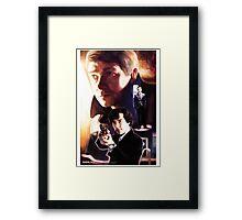 Sherlock - Hi! Framed Print