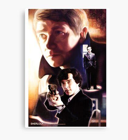 Sherlock - Hi! Canvas Print