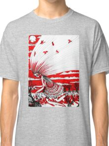the bird gatherer (red ink) Classic T-Shirt