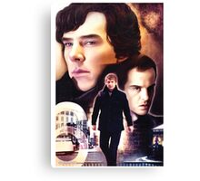 Sherlock - The Game Canvas Print