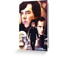 Sherlock - The Game Greeting Card