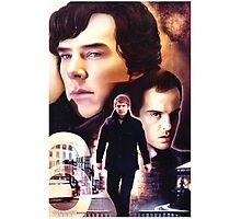 Sherlock - The Game Photographic Print