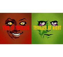 Thriller at Night | Double Feature Photographic Print
