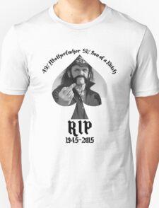 Lemmy Kilmister Motorhead RIP T-Shirt