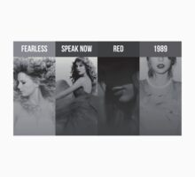 Taylor Swift fearless speak now red 1989 by swiny13