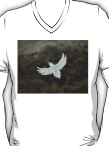 White Crow original painting T-Shirt
