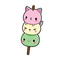 Cute Kitty Cat Totem  Photographic Print