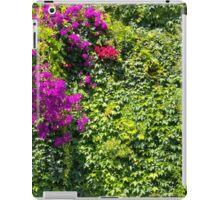 Purple Bougainvillea Greenery iPad Case/Skin