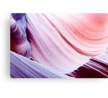 Lower Antelope Canyon textures Page Arizona USA Canvas Print