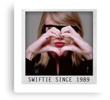 love Taylor Swift Canvas Print