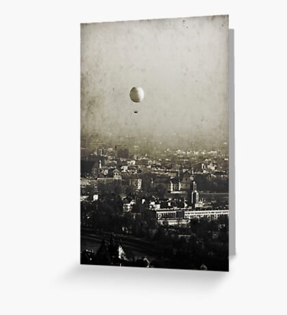 Flying over you Greeting Card
