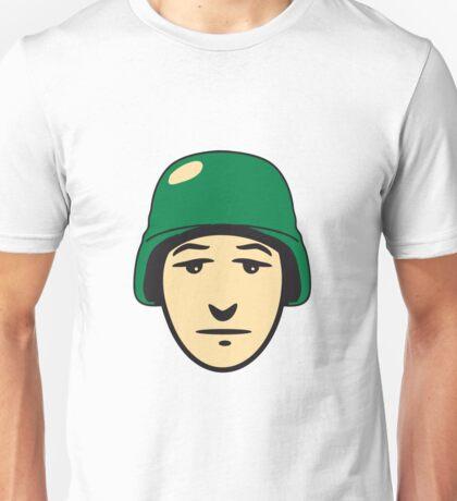 Face helmet soldier Unisex T-Shirt