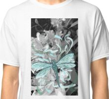 Watercolour Effect Dragonfly Classic T-Shirt