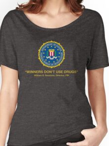 Winners Don't Use Drugs Women's Relaxed Fit T-Shirt