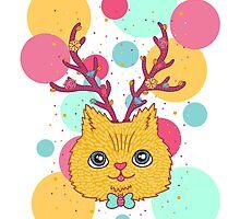 summer cat by kostolom3000