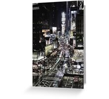 Times Square - NYC Greeting Card