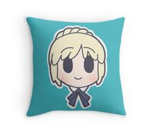Fate Zero Saber Chibi Throw Pillow