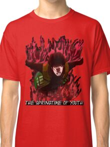 Might Guy - The Springtime of Youth! Classic T-Shirt