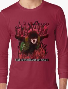 Might Guy - The Springtime of Youth! Long Sleeve T-Shirt