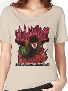 Might Guy - The Springtime of Youth! Women's Relaxed Fit T-Shirt