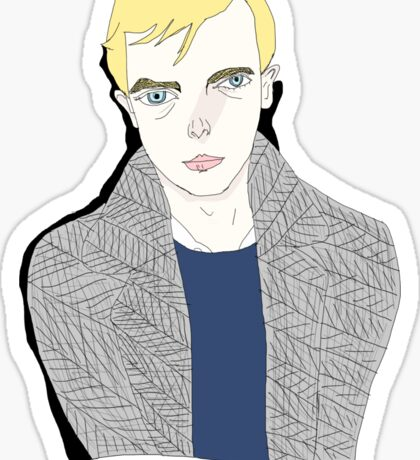 Lucien Carr  Sticker