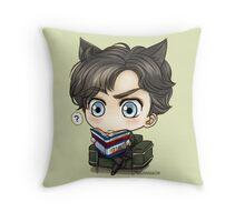 Sherlock Chibi - Study Throw Pillow