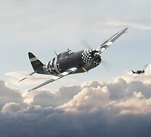 P47G - Thunderbolt    Combat Pair by warbirds