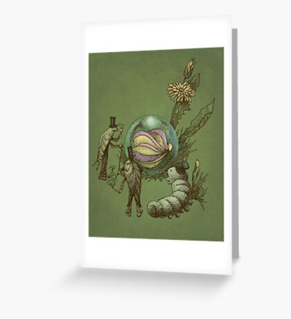 It Fell From The Sky  Greeting Card