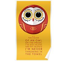 Owl on the Prowl Poster