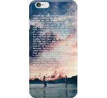 Taylor Swift Clean Speech iPhone Case/Skin