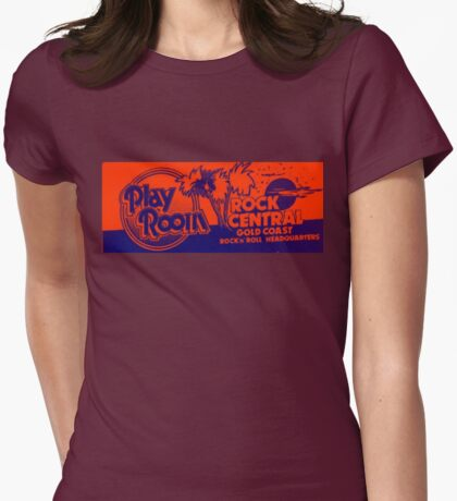 The Playroom Womens Fitted T-Shirt