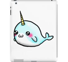 Cute Uni whale  iPad Case/Skin