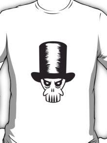 Face evil cylinder skull T-Shirt