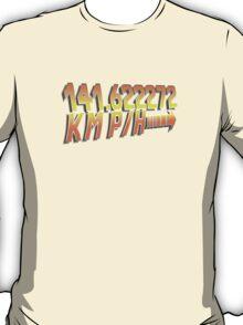 BTTF in Metric T-Shirt