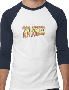BTTF in Metric Men's Baseball ¾ T-Shirt