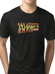 BTTF in Metric Tri-blend T-Shirt