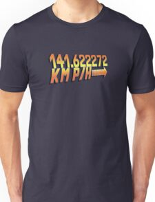 BTTF in Metric Unisex T-Shirt