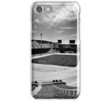 Olympic Stadium, Barcelona (B&W) iPhone Case/Skin
