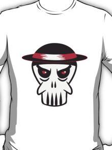 Face evil Hat totenkopf T-Shirt
