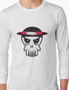 Face evil Hat totenkopf Long Sleeve T-Shirt