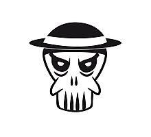Face evil Hat totenkopf Photographic Print