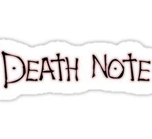 DEATH NOTE Sticker