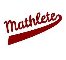 Mathlete Photographic Print