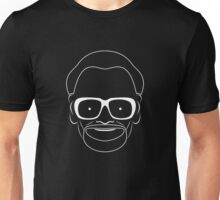 Romero, the godfather of zombies, white Unisex T-Shirt