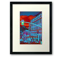 Downtown Prescott Arizona  Framed Print