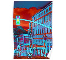 Downtown Prescott Arizona  Poster