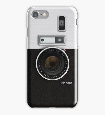 Vintage camera (vert) iPhone Case/Skin